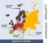 area of each european region...   Shutterstock .eps vector #404016577