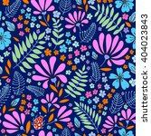 floral seamless pattern. herbal ... | Shutterstock .eps vector #404023843