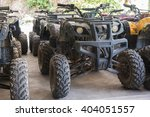 atv quad bike park in the... | Shutterstock . vector #404051557