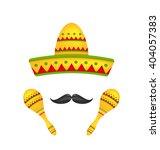 illustration mexican symbols...   Shutterstock .eps vector #404057383