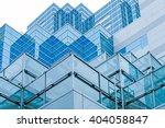 Blue Buildings At Ikebukuro...