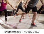 group training  fitness  sport ... | Shutterstock . vector #404072467