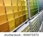 color swatches and painting... | Shutterstock . vector #404073373