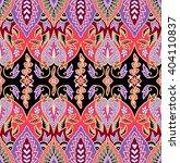 seamless floral beautiful batik ...   Shutterstock . vector #404110837