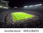 barcelona april 05   2016  camp ... | Shutterstock . vector #404128693