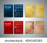 flyer design templates. set of... | Shutterstock .eps vector #404140183