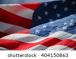 close up on american flag stars ... | Shutterstock . vector #404150863