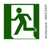 fire emergency icons. vector... | Shutterstock .eps vector #404172547