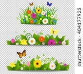 spring flower bouquet isolated... | Shutterstock .eps vector #404177923