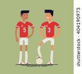 cool vector soccer football... | Shutterstock .eps vector #404190973