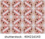 floral pattern flourish tiled... | Shutterstock .eps vector #404216143