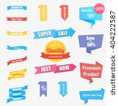 vector illustration set of... | Shutterstock .eps vector #404222587