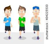 cartoon illustration of male...   Shutterstock .eps vector #404225533