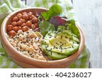 quinoa bowl for healthy... | Shutterstock . vector #404236027