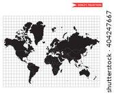vector world map. most popular... | Shutterstock .eps vector #404247667