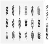 wheat ears for logo design | Shutterstock .eps vector #404276737