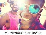 diverse people friends fun...   Shutterstock . vector #404285533