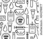 seamless pattern. diabetes.... | Shutterstock .eps vector #404298877