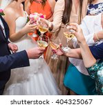 wedding celebration. hands... | Shutterstock . vector #404325067