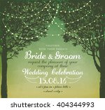 inspiration card for wedding ... | Shutterstock .eps vector #404344993