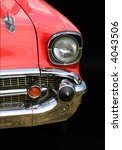 red chevy car | Shutterstock . vector #4043506