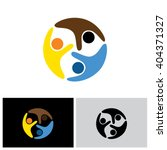 friends vector logo icon in eps ...