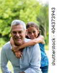 close up of smiling grandfather ...   Shutterstock . vector #404373943