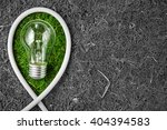 green energy. concept ecology.... | Shutterstock . vector #404394583