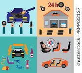 car service maintenance icon .... | Shutterstock .eps vector #404432137