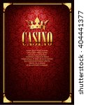 luxury casino gambling... | Shutterstock .eps vector #404441377