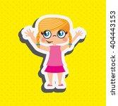 happy kids design  | Shutterstock .eps vector #404443153