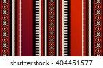 red theme arabian sadu weaving... | Shutterstock . vector #404451577