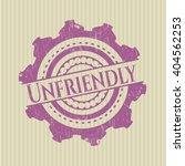 unfriendly rubber grunge... | Shutterstock .eps vector #404562253