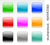 set of square web buttons | Shutterstock .eps vector #404592583