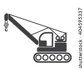 Crane Icon  Crane Icon Eps10 ...