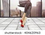 interior of gray floor and... | Shutterstock . vector #404620963