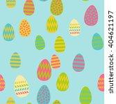 pattern of easter eggs   Shutterstock .eps vector #404621197