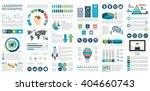 infographic leadership vector... | Shutterstock .eps vector #404660743