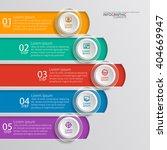 vector abstract 3d paper... | Shutterstock .eps vector #404669947