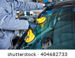 automobile windshield or... | Shutterstock . vector #404682733