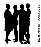 group of people | Shutterstock .eps vector #404688853