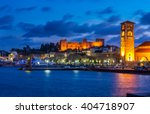 rhodes  greece | Shutterstock . vector #404718907