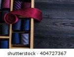 Red Necktie On Top Of...
