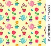 cute seamless vector pattern... | Shutterstock .eps vector #404743093