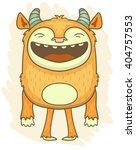 cartoon monster   Shutterstock .eps vector #404757553