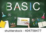 basic general primary essential ... | Shutterstock . vector #404758477