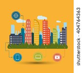 smart city vector design ...   Shutterstock .eps vector #404764363