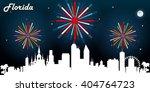 florida usa skyline silhouette...   Shutterstock .eps vector #404764723