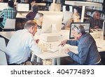 library academic computer... | Shutterstock . vector #404774893