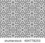 ornament with black and white... | Shutterstock . vector #404778253